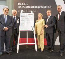 75 Jahre Ionenaustauscher-Produktion in Bitterfeld