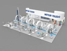 Messestand Mettler-Toledo