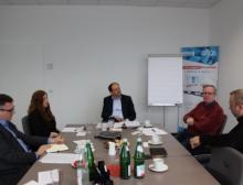 Pharma-Expertengespräch bei Transco, Großbeeren