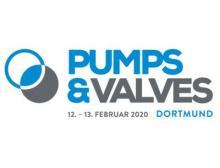 Logo der Pumps & Valves 2020