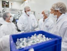 Die Röchling-Gruppe hat ihr bestehendes Werk in Brensbach erweitert und modernisiert