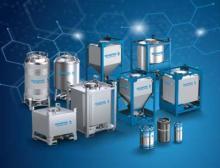 Schäfer Container Systems zeigt Schäfer Cube auf der Achema 2018