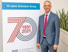 Roland Schreiner, Geschäftsführer in der dritten Generation, würdigt das 70-jährige Jubiläum der Schreiner Group mit zahlreichen Aktionen