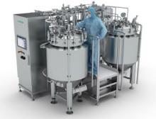 Die vollautomatisierte SVP Essential Prozessanlage bietet höchste hygienische Standards und Reproduzierbarkeit