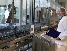 Die neue Linie von Syntegon Technology entspricht den notwendigen Atex-Standards