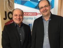 Bauen gemeinsam das Geschäft im Iran auf: Mehrdad Nasseri und Thomas Schleife