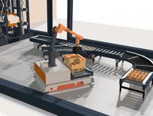 Trapo Mensch-Roboter-Kollaboration