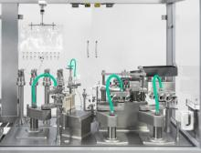 Versynta FFP lässt sich problemlos auf verschiedene Behältnisarten wie Vials, Spritzen und Karpulen sowie unterschiedliche Abfüllsysteme inklusive Einweg-Lösungen umrüsten